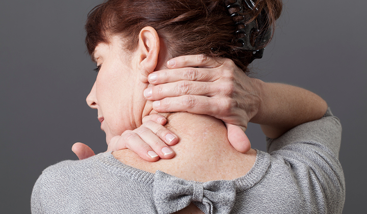 Schmerzender knoten am hals